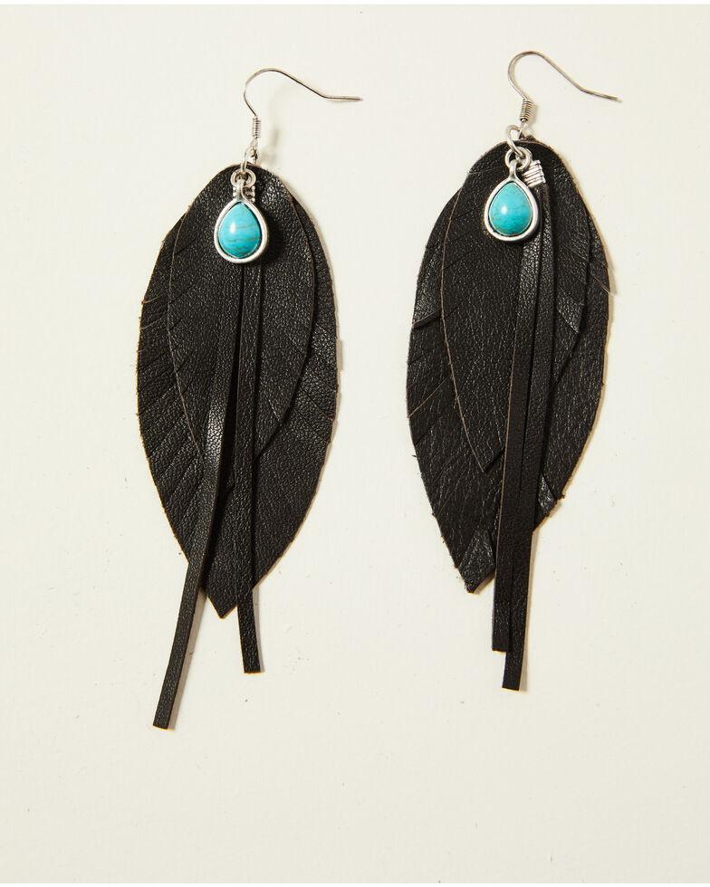 Idyllwind Women's Brown Roots & Wings Earrings, Brown, hi-res