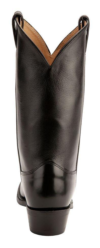 Justin Uniform Western Boots - Round Toe, Black, hi-res