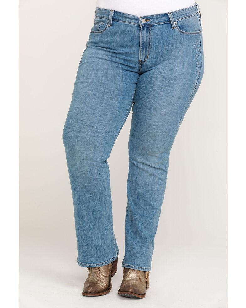 Levi's Women's Desert Dreamin' Classic Bootcut Jeans - Plus, Blue, hi-res