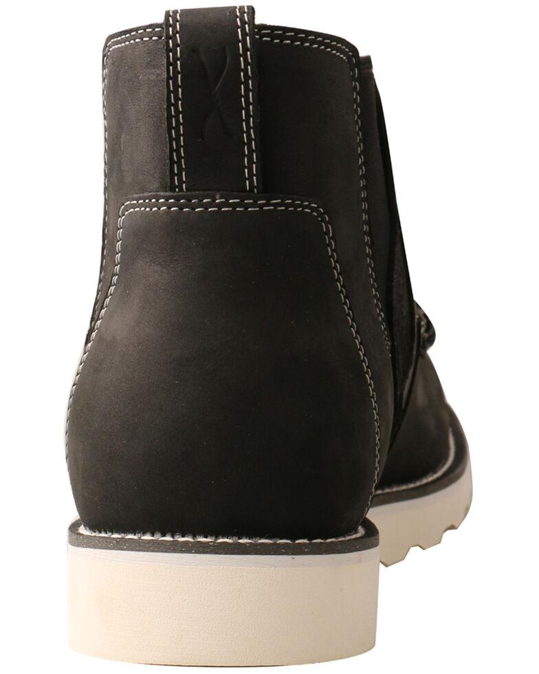 Twisted X Men's Wedge Sole Chelsea Boots - Moc Toe, Black, hi-res