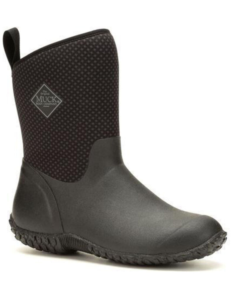 Muck Boots Women's Muckster II Rubber Boots - Round Toe, Black, hi-res