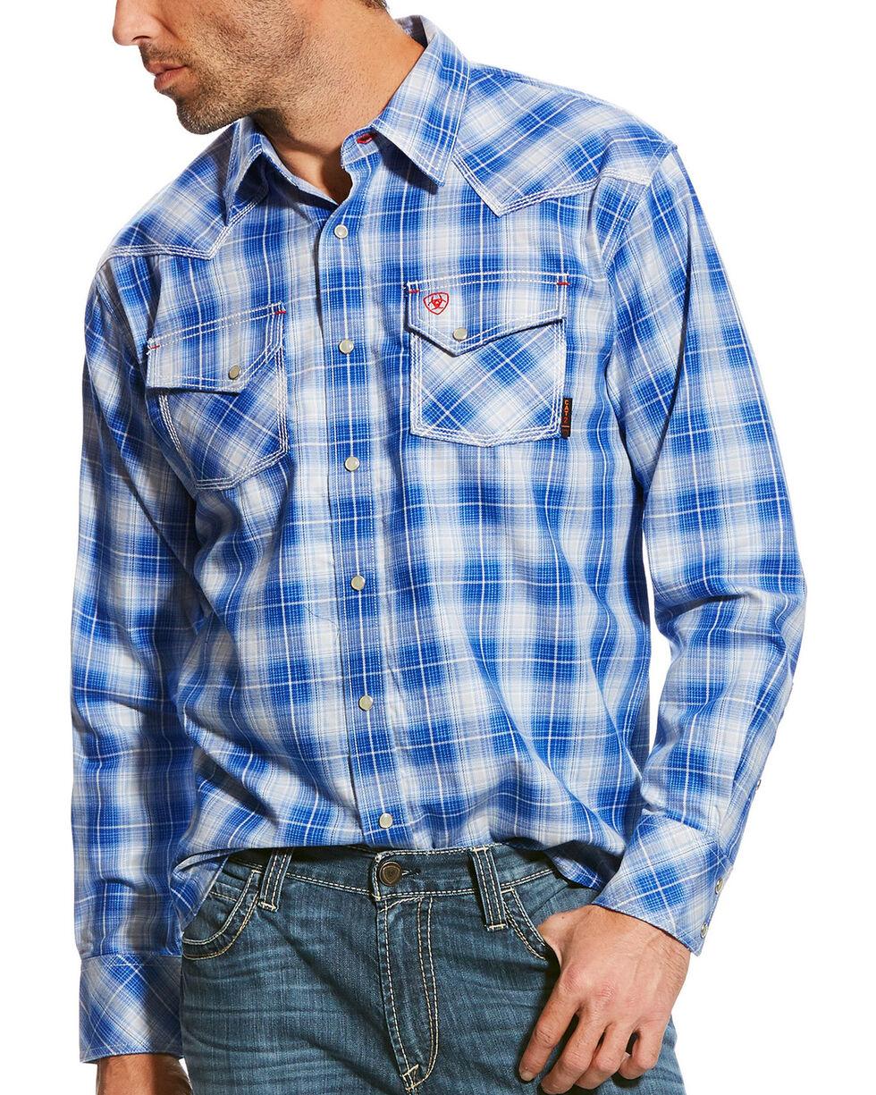 Ariat Men's FR Simeon Retro Work Shirt, Multi, hi-res