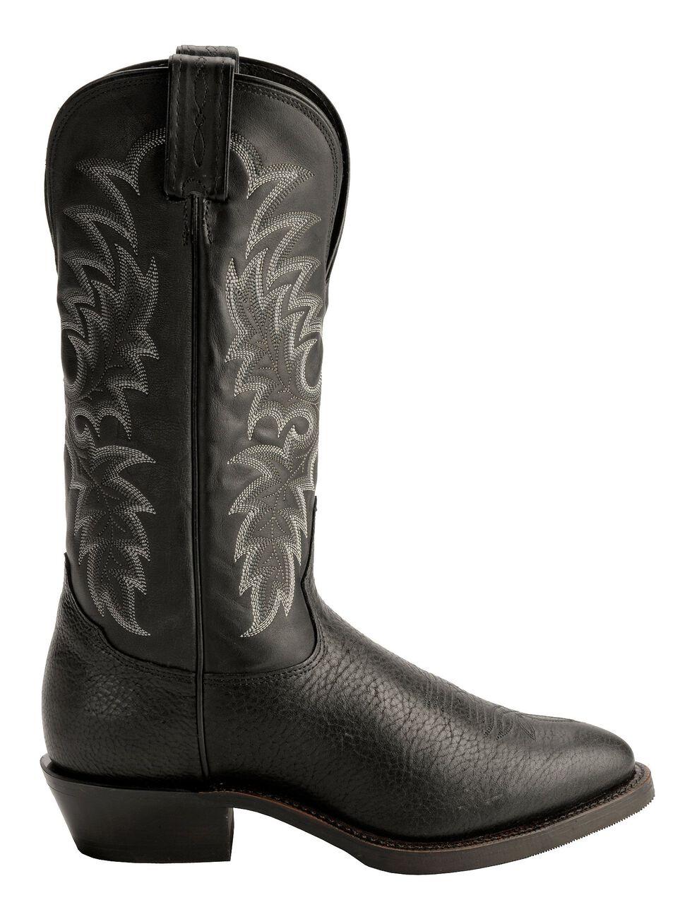 Tony Lama Americana Century Cowboy Boots, Black, hi-res
