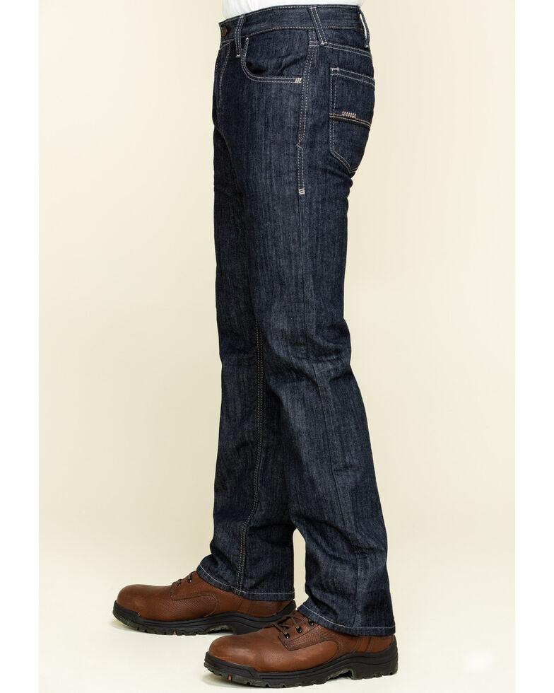 Ariat Men's M5 FR Armor Low Stretch Stackable Straight Leg Work Jeans , Blue, hi-res