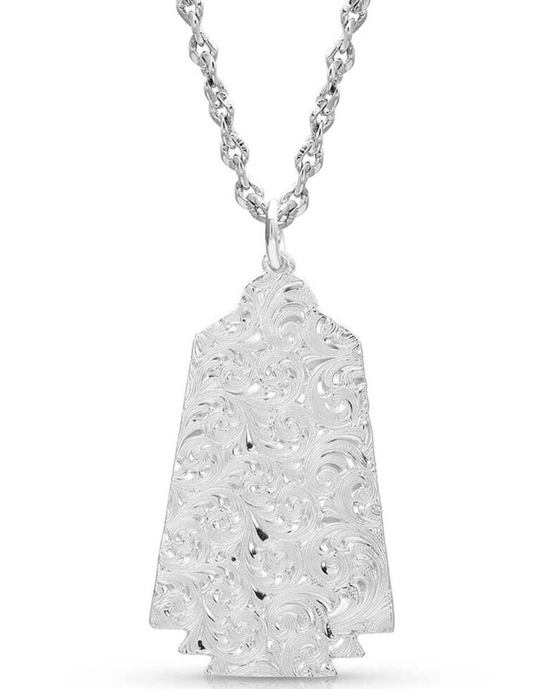 Montana Silversmiths Women's Desert Serenade Agave Turquoise Necklace, Silver, hi-res
