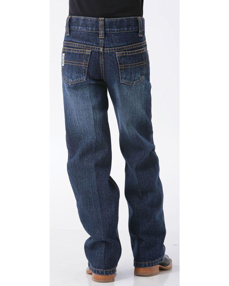 Cinch Boys' White Label Demin Straight Leg Jeans - 8-18, Denim, hi-res