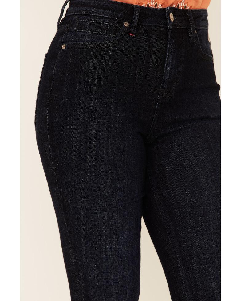 Idyllwind Women's Blue Moon High Risin' Flare Leg Jeans, Dark Blue, hi-res