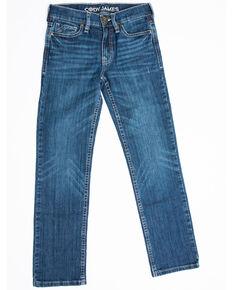 Cody James Boys' 8-20 Stone Cold Stretch Slim Straight Jeans , Blue, hi-res