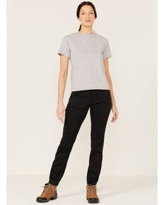 Wrangler Women's Black Slim Utility Pants, Black, hi-res