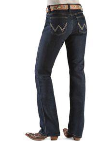 Wrangler Women's Dark Dynasty Ultimate Riding Q-Baby Jeans  , Dk Dynasty, hi-res