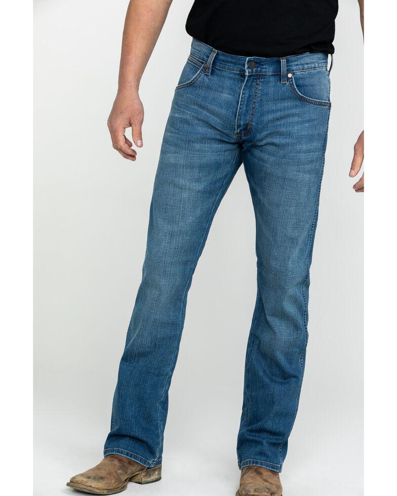 Wrangler Retro Men's Beasley Slim Bootcut Jeans , Blue, hi-res