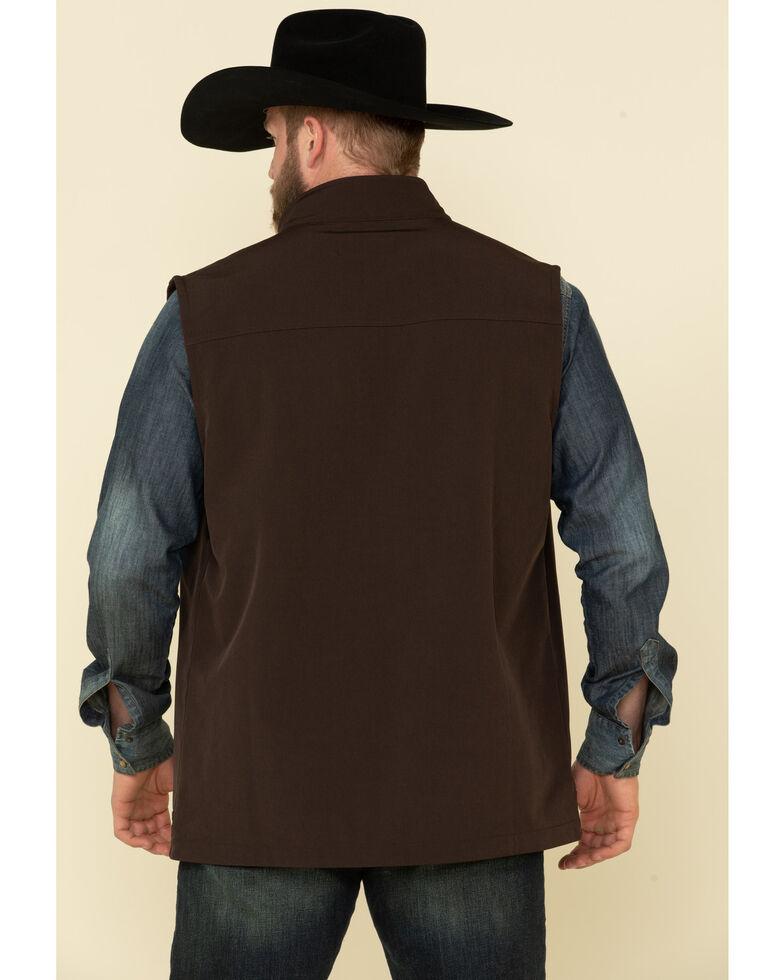 Cody James Core Men's Brown Wrightwood Zip Front Vest - Big , Brown, hi-res