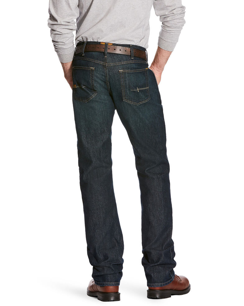 Ariat Men's M5 Rebar Low Rise Straight Leg Work Jeans - Big , Indigo, hi-res