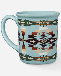 Pendleton Tuscan Aqua Coffee Mug, Aqua, hi-res