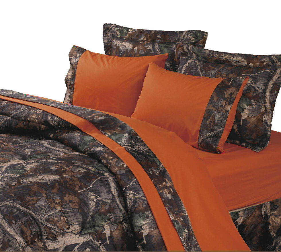 HiEnd Accents Realtree Camouflage Sheet Set - Twin, Multi, hi-res