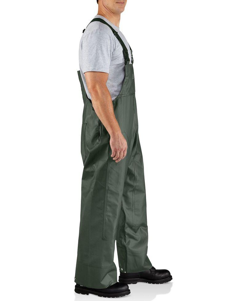 Carhartt Surry Rain Bib Overalls - Big & Tall, Green, hi-res