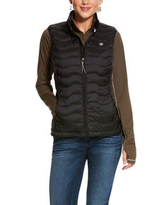 Ariat Women's Black Ideal 3.0 Down Vest, Black, hi-res