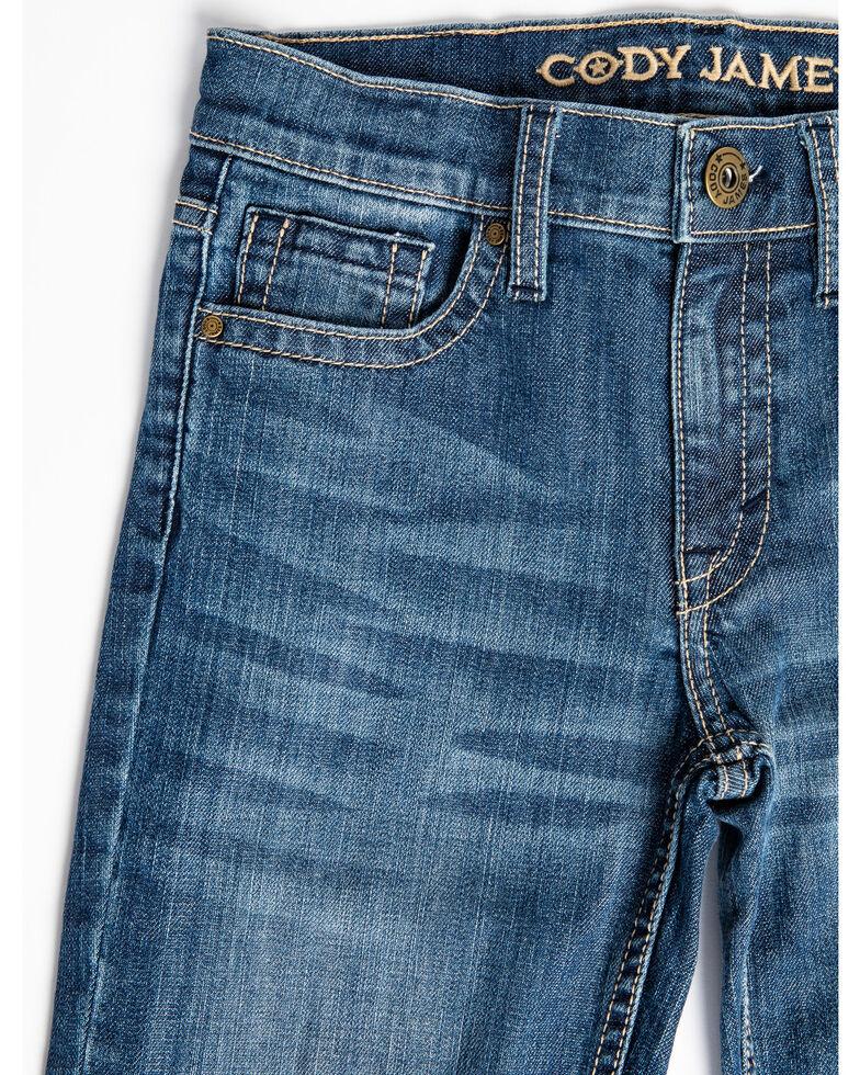 Cody James Boys' 8-20 Light River Stretch Slim Straight Jeans - Big , Blue, hi-res