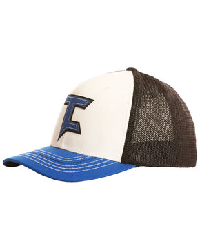 Tuf Cooper Men's Logo Mesh Ball Cap, Blue, hi-res
