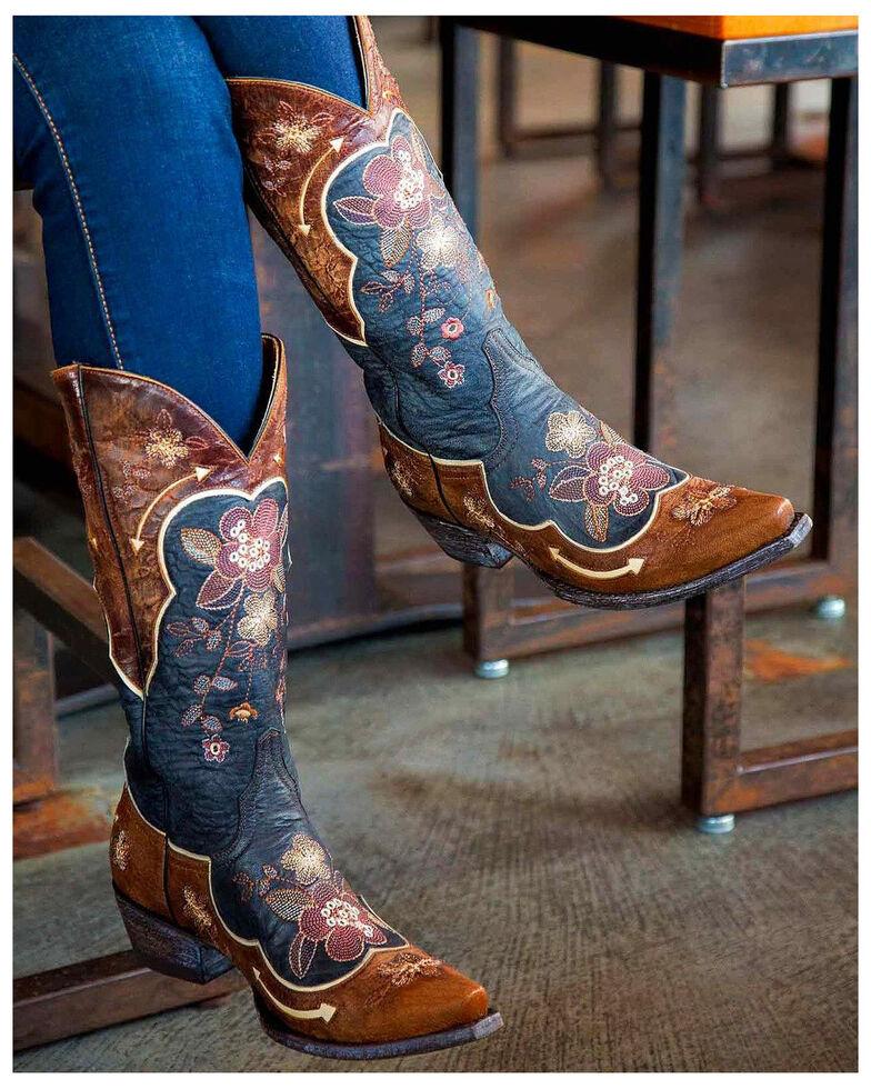 Old Gringo Women's Black Bonnie Western Boots - Snip Toe , Black, hi-res
