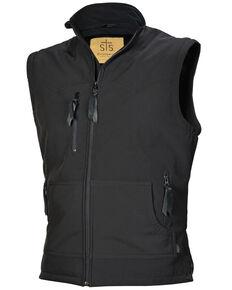 STS Ranchwear Boys' Black Youth Barrier Softshell Vest , No Color, hi-res