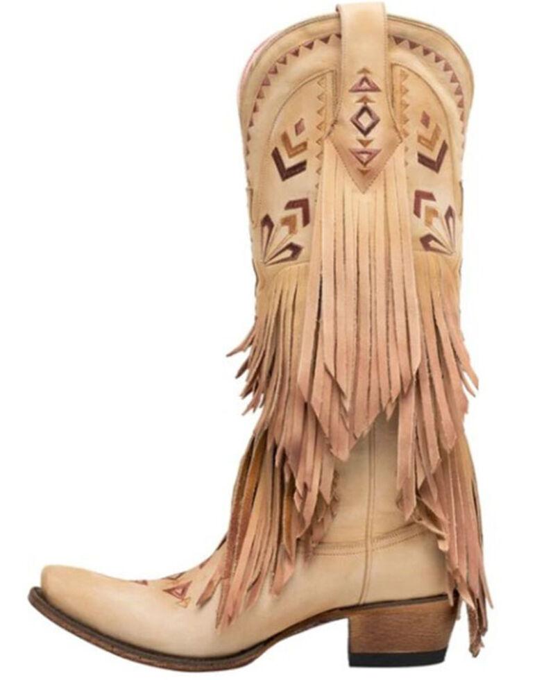 Junk Gypsy by Lane Women's Thunderbird Western Boots - Snip Toe, Ivory, hi-res