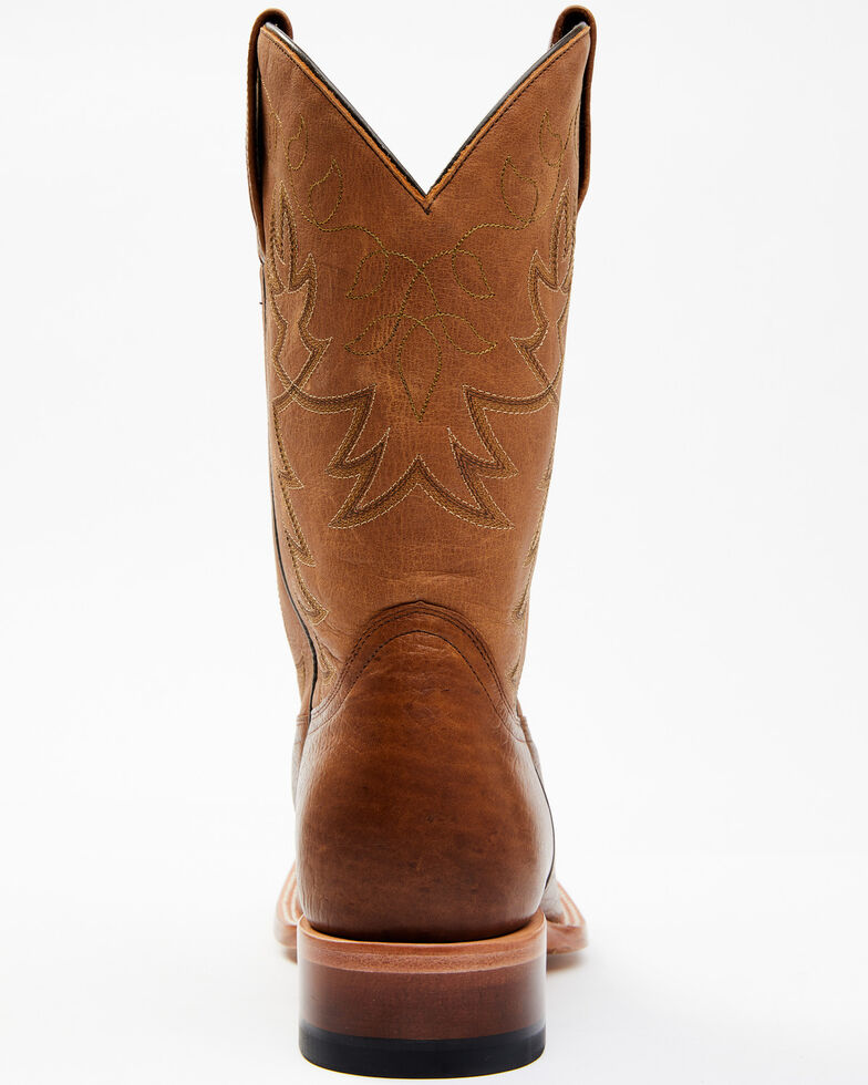 Cody James Men's Jameson Western Boots - Wide Square Toe, Brown, hi-res