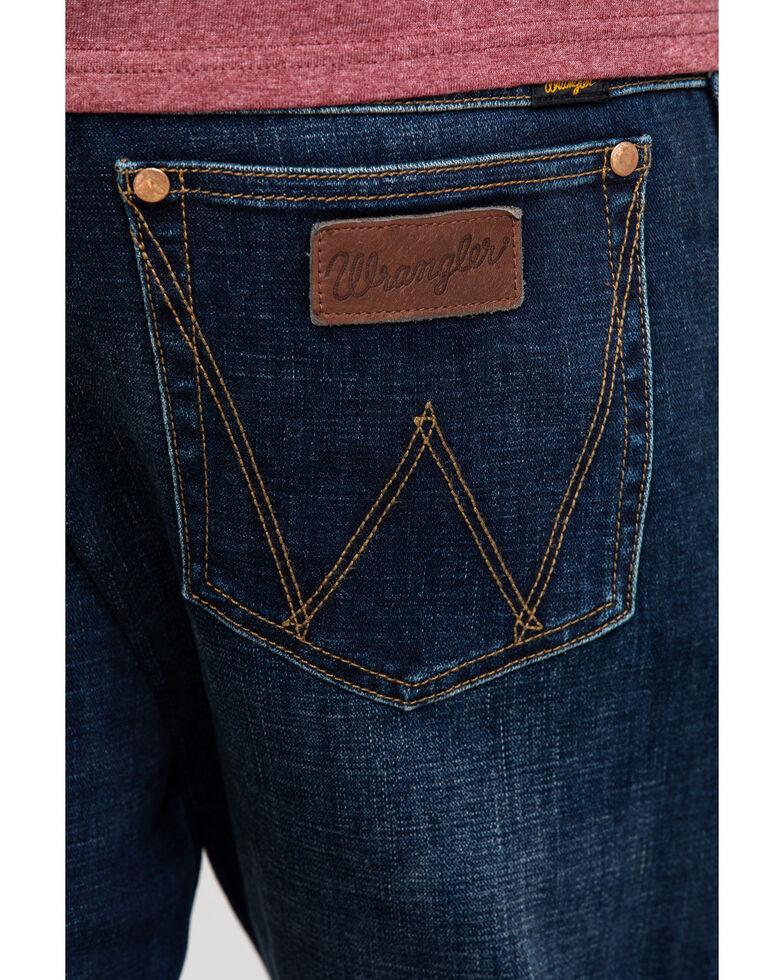 Wrangler Retro Men's Lockhart Premium Stretch Slim Bootcut Jeans , Indigo, hi-res