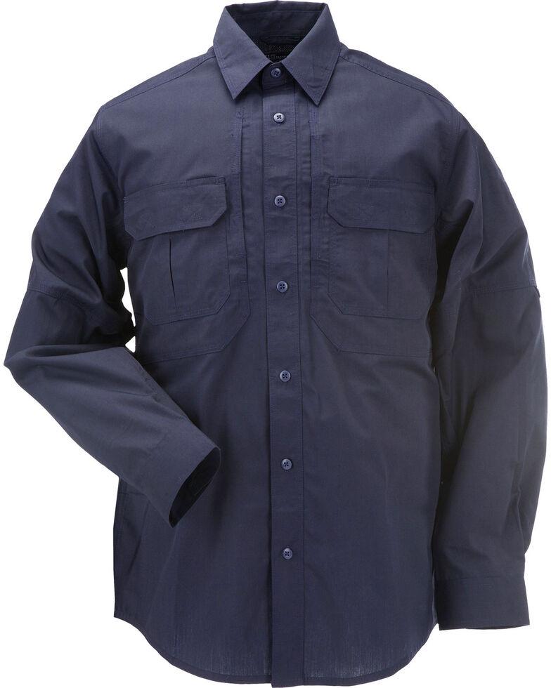 5.11 Tactical Taclite Pro Long Sleeve Shirt - 3XL, Navy, hi-res