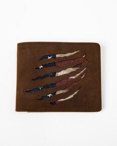 Cody James Men's Americana Bi-Fold Wallet, Brown, hi-res