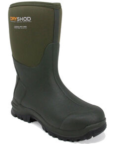 Dryshod Men's Legend MXT Rubber Boots - Round Toe, Grey, hi-res