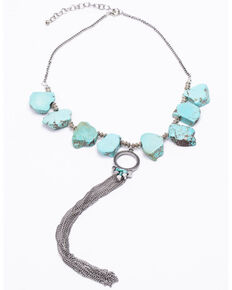 Idyllwind Women's Passing Through Turq Necklace, Turquoise, hi-res