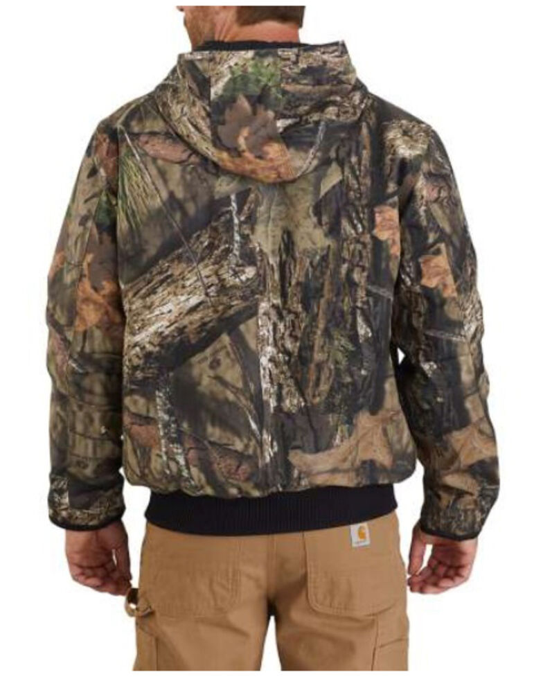 Carhartt Men's Washed Duck Camo Insulated Hunt Active Jacket - Big & Tall, Camouflage, hi-res
