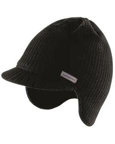 Carhartt Men's Black Knit Visor Beanie , Black, hi-res