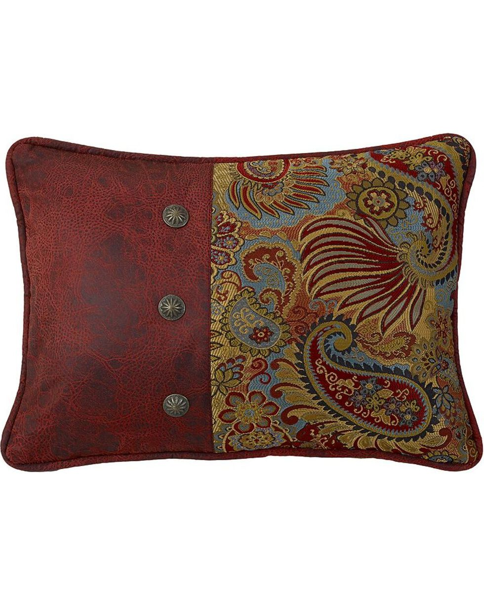HiEnd Accents San Angelo Paisley Pillow, Multi, hi-res