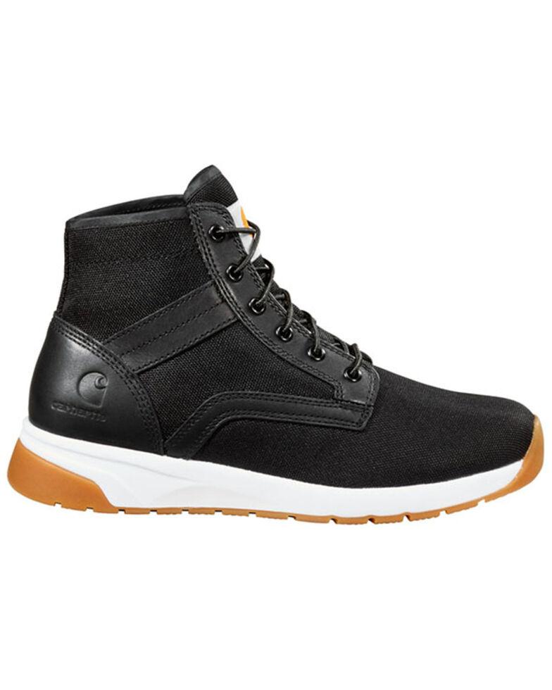 Carhartt Men's Black Lightweight Work Boots - Nano Composite Toe, Black, hi-res