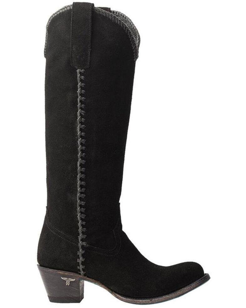 Lane Women's Plain Jane Western Boots - Round Toe, Black, hi-res