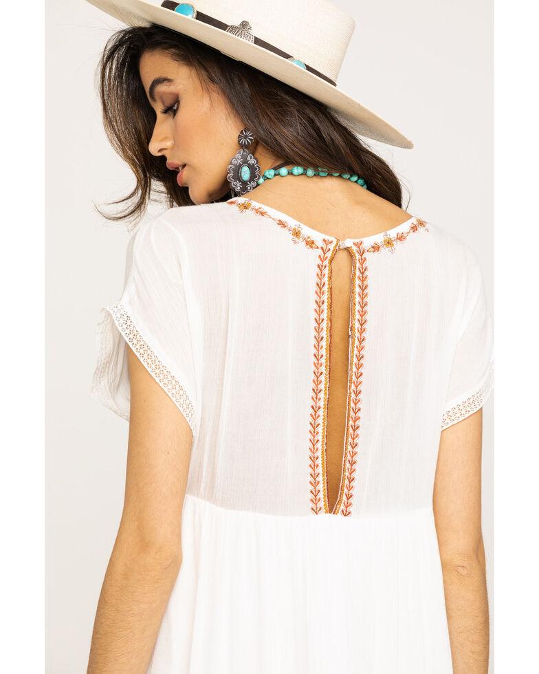 Free People Women's Sunrise Wanderer Mini Dress, Ivory, hi-res