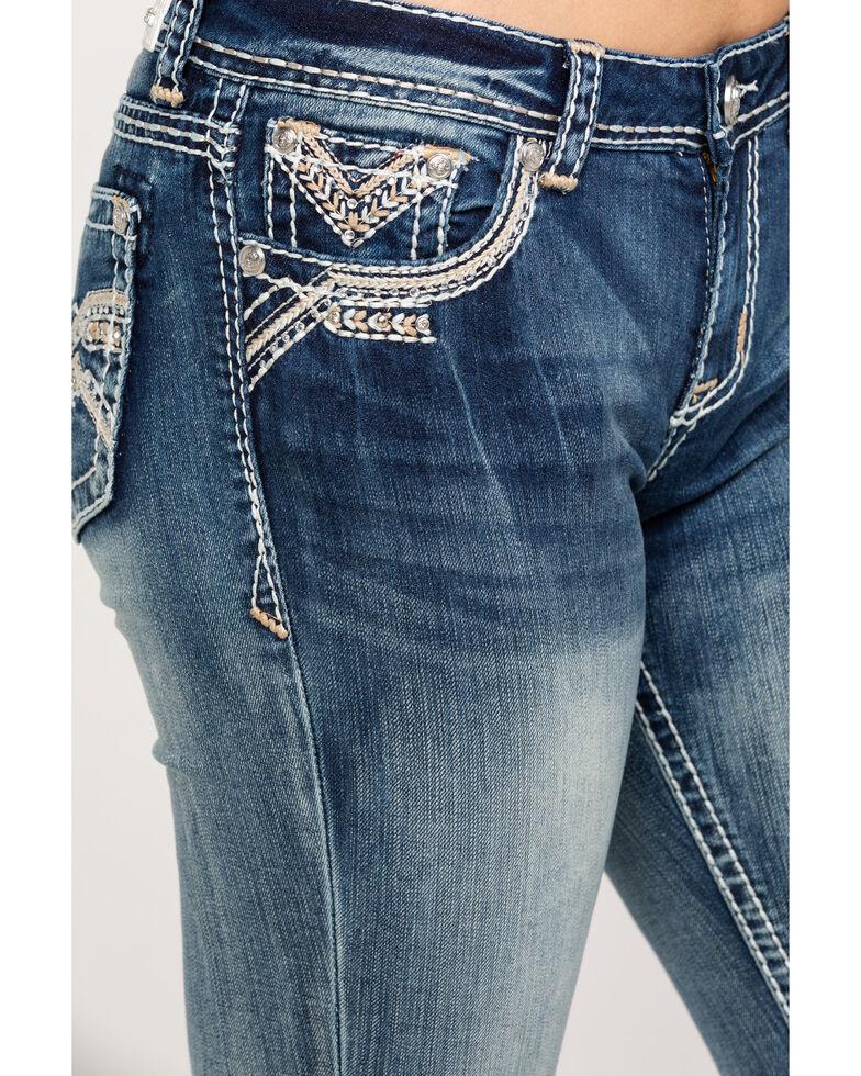 Grace in LA Women's Medium Easy Bootcut Jeans, Blue, hi-res