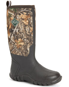 Muck Boots Men's Fieldblazer Classic Rubber Boots - Round Toe, Camouflage, hi-res