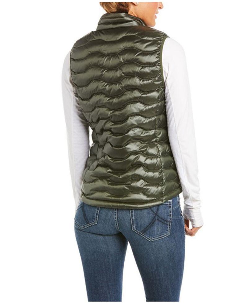 Ariat Women's Prairie 3.0 Ideal Down Vest , Green, hi-res
