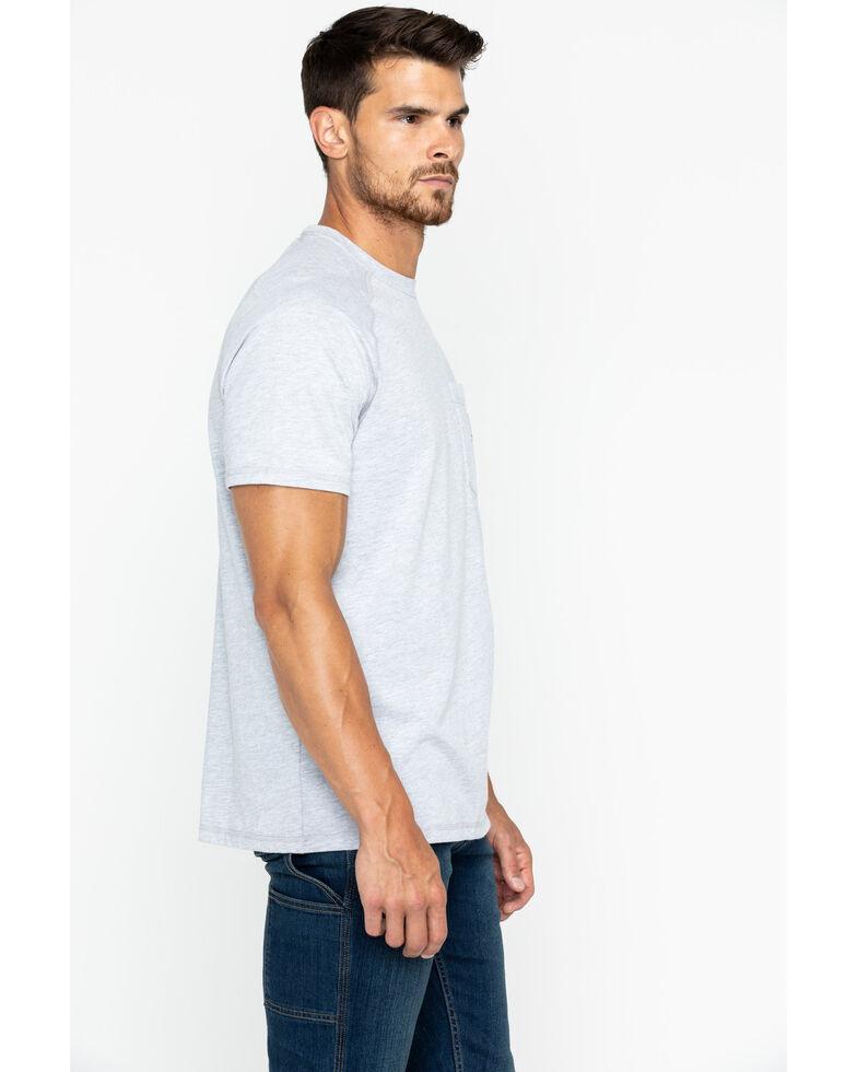 Carhartt Force Men's Short Sleeve Work T-Shirt , Hthr Grey, hi-res