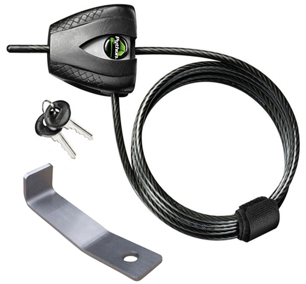 YETI Coolers Security Cable Lock & Bracket, Silver, hi-res