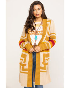 Pendleton Women's Harding Safari Open Cardigan , Multi, hi-res
