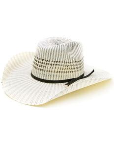 Resistol Men's Natural 4X Brody Tuff Hedeman Straw Western Hat , Natural, hi-res