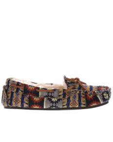 Lamo Footwear Women's Patterned Maya Slippers - Moc Toe, Multi, hi-res