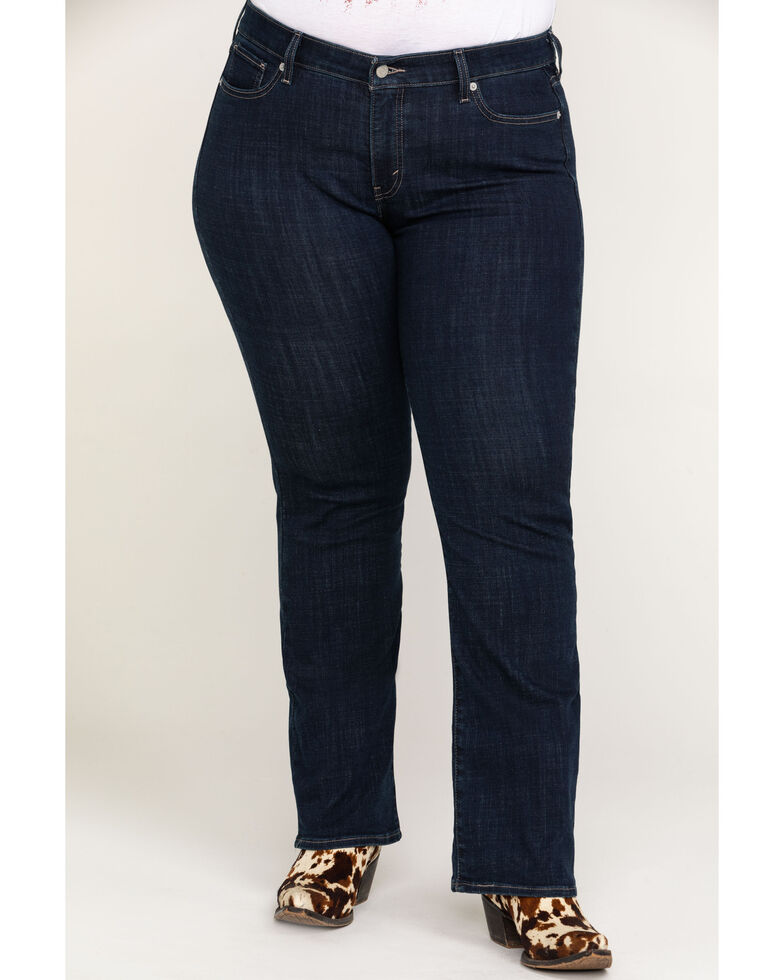 Levi's Island Rinse Classic Bootcut Jeans - Plus, Blue, hi-res