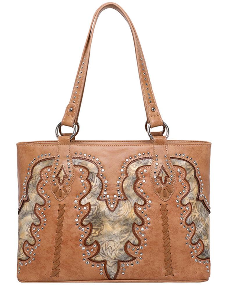 Montana West Women's Boot Scroll Travel Bag, , hi-res