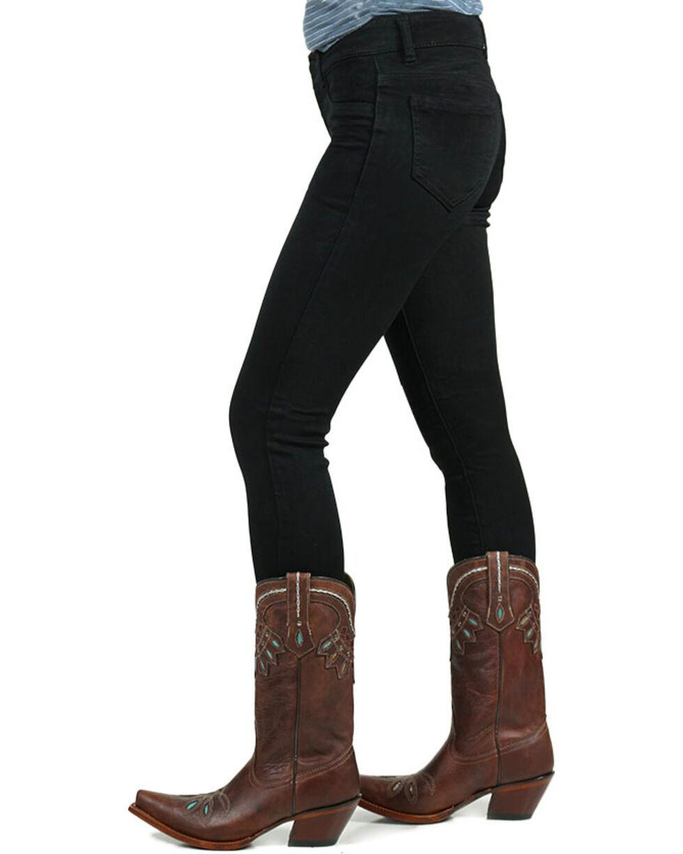 Boom Boom Jeans Women's Rayon Denim Leggings, Black, hi-res