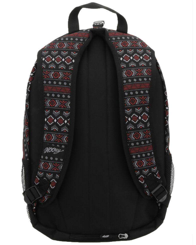 HOOey Rockstar Black Aztec Backpack, Black, hi-res